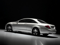 2010 Mercedes-Benz CL-Class, Back Left Quarter View, manufacturer, exterior