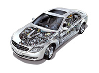 2010 Mercedes-Benz CL-Class, Engine View, manufacturer, engine