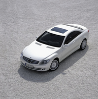 2010 Mercedes-Benz CL-Class, Overhead View, manufacturer, exterior