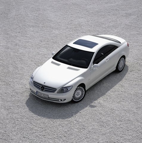 2010 Mercedes-Benz CL-Class, Overhead View, exterior, manufacturer