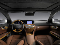 2010 Mercedes-Benz CL-Class, Interior View, interior, manufacturer