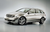 2010 Mercedes-Benz R-Class, Left Side View, exterior, manufacturer