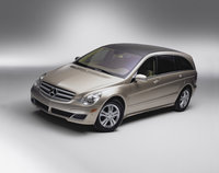 2010 Mercedes-Benz R-Class, Front Left Quarter View, exterior, manufacturer