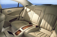 2010 Mercedes-Benz CLS-Class, Interior Back Seat View, interior, manufacturer