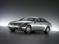2010 Mercedes-Benz CLS-Class, Front Right Quarter View, manufacturer, exterior