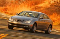 2010 Mercedes-Benz CLS-Class, Front View, exterior, manufacturer