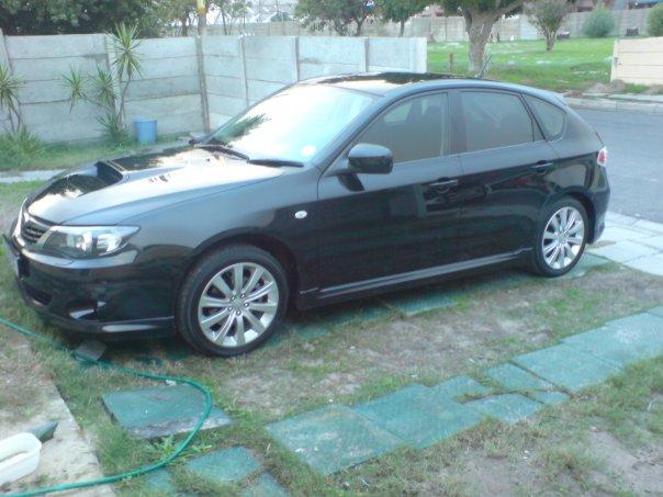 Subaru Impreza Hatchback Wrx. 2009 Subaru Impreza WRX