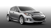 2010 Mazda MAZDASPEED3, Front Right View, interior, manufacturer