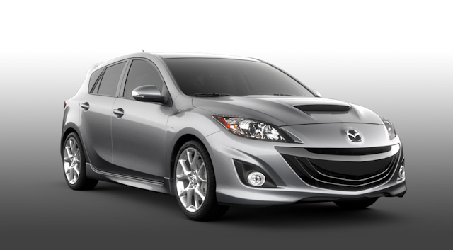 2010 Mazda MAZDASPEED3, Front Right View, manufacturer, interior