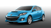 2010 Mazda MAZDASPEED3, Front Left Quarter View, manufacturer, exterior