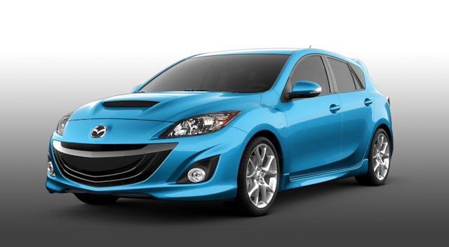 2010 Mazda MAZDASPEED3, Front Left Quarter View, exterior, manufacturer
