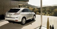 2010 Lexus RX 450h, Back Right Quarter View, exterior, manufacturer