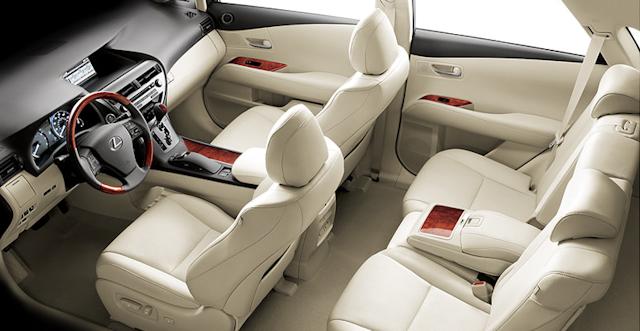 L 1240 CS  lexus rx450h interior