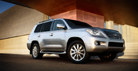 2010 Lexus LX 570, Front Right Quarter View, manufacturer, exterior