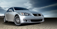 2010 Lexus IS 350 Base, Front Right Quarter View, exterior, manufacturer