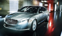 2010 Jaguar XJ-Series, Front Left Quarter View, manufacturer, exterior