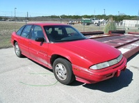 1991 Pontiac Grand Prix 4 Dr SE Sedan picture, exterior