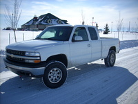 2002 Chevrolet Silverado 1500 LS Ext Cab Short Bed 4WD picture, exterior