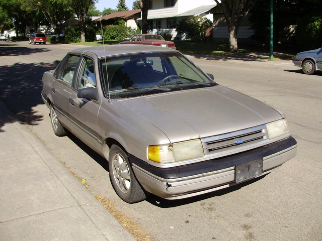 Picture of 1990 Ford Tempo 4 Dr GL Sedan