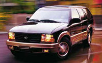 2000 Oldsmobile Bravada Overview