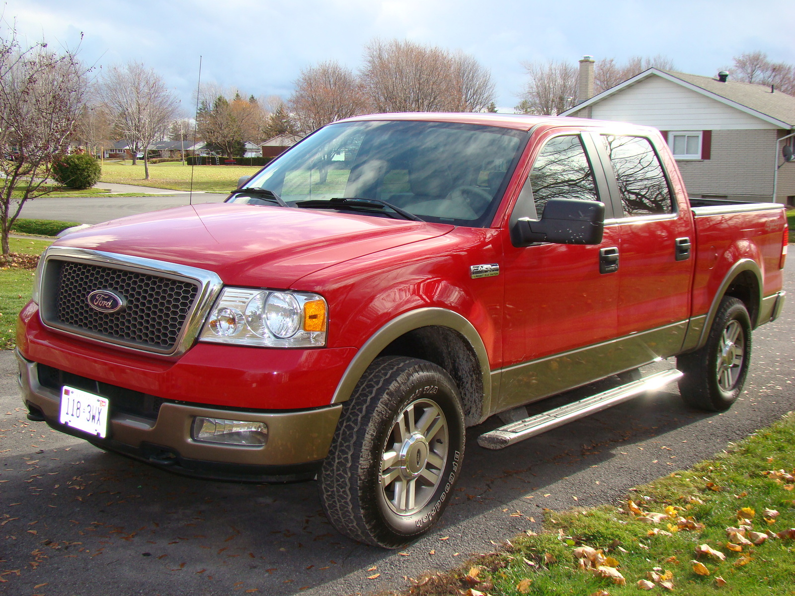 picture of 2005 ford f 150 lariat supercab lb 4wd exterior. Black Bedroom Furniture Sets. Home Design Ideas