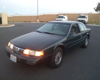 1995 Mercury Cougar 2 Dr XR7 Coupe picture, engine