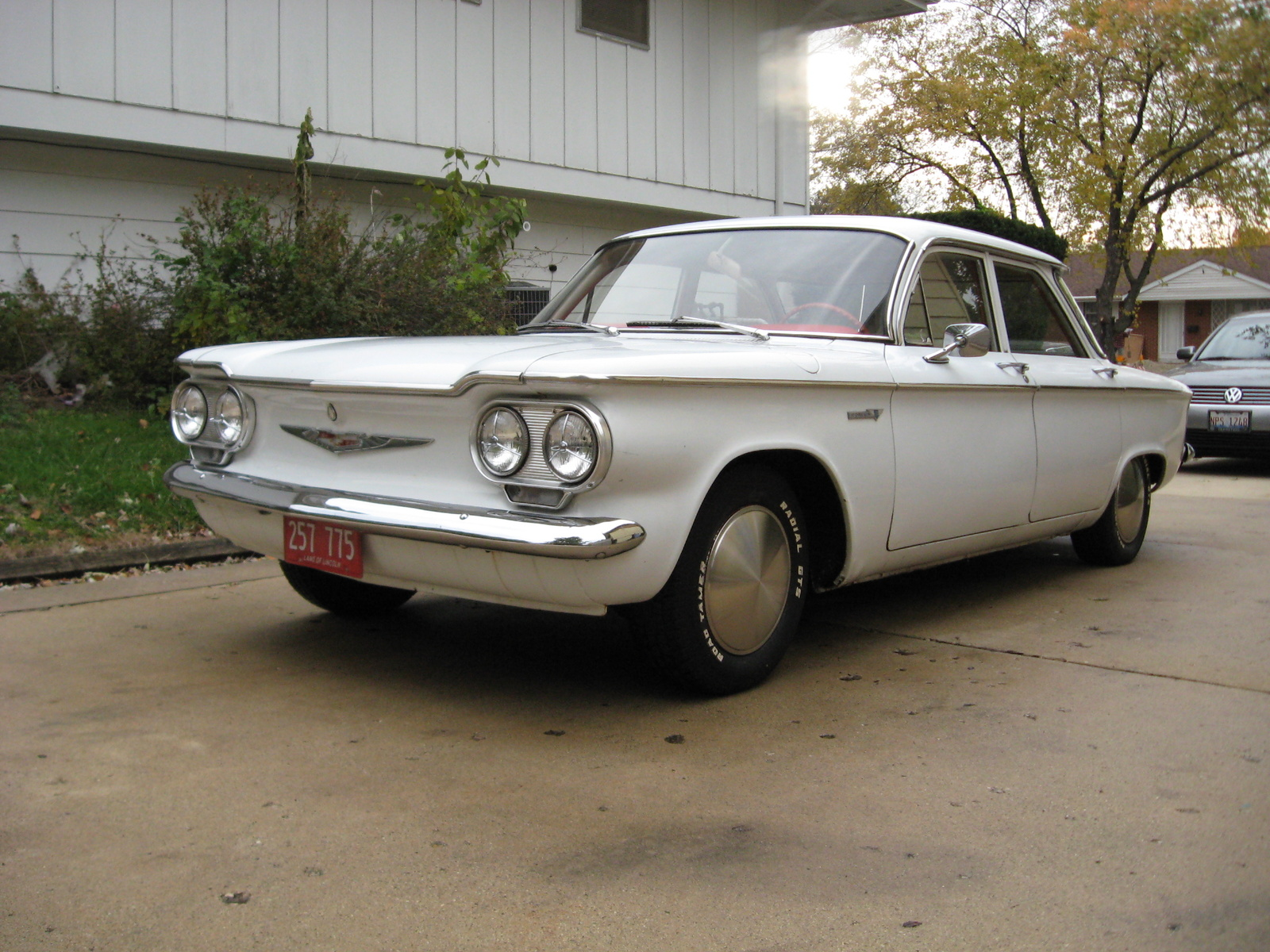 10 Ugliest Cars Of All Time Chevrolet Corvair Pic
