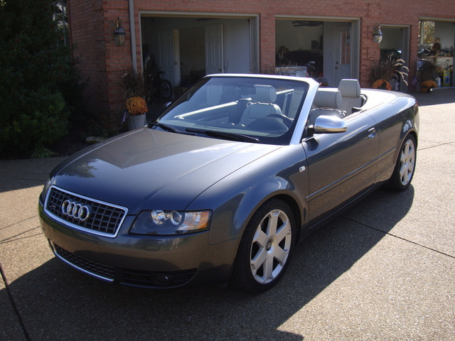 Picture of 2005 Audi S4 quattro Cabriolet AWD, exterior, gallery_worthy