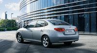 2010 Hyundai Elantra, Back Left Quarter View, exterior, manufacturer