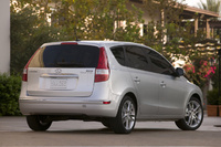 2010 Hyundai Elantra Touring, Back Right Quarter View, manufacturer, exterior