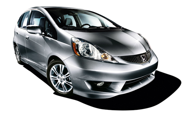 2010 Honda Fit, Front Right Quarter View, manufacturer, exterior