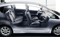 2010 Honda Fit, Right Side View, interior, manufacturer