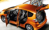 2010 Honda Fit, Doors Open, manufacturer, exterior