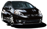 2010 Honda Fit, Front Right Quarter View, exterior, manufacturer