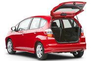 2010 Honda Fit, Back Left Quarter View, exterior, interior, manufacturer, gallery_worthy