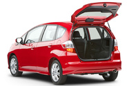 2010 Honda Fit, Back Left Quarter View, manufacturer, exterior, interior