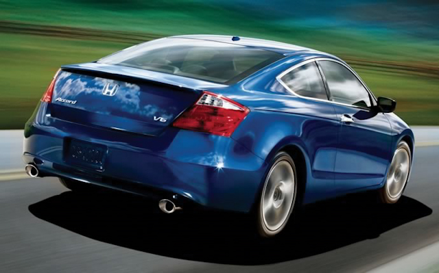 2010 Honda Accord Coupe, Back Right Quarter View, manufacturer, exterior