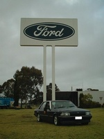 1984 Ford Falcon Overview