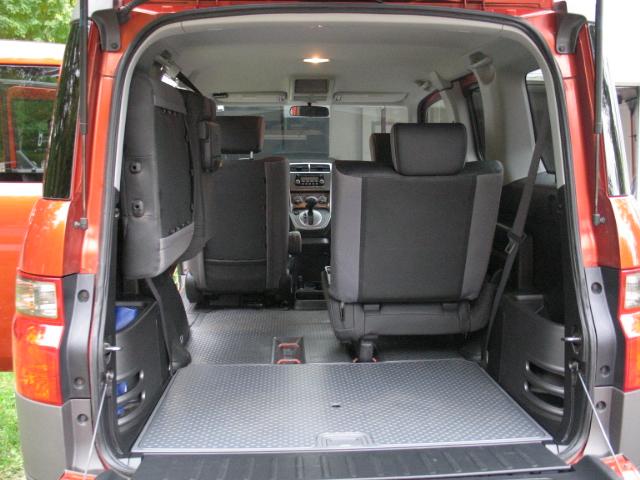2007 Honda Element Interior. 2003 Honda Element EX picture,