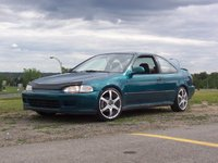 1995 Honda Civic Coupe Overview