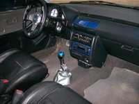 1991 Honda Civic DX Hatchback, 1991 Honda Civic 2 Dr DX Hatchback picture, interior