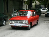 1966 Moskvitch 408 Overview