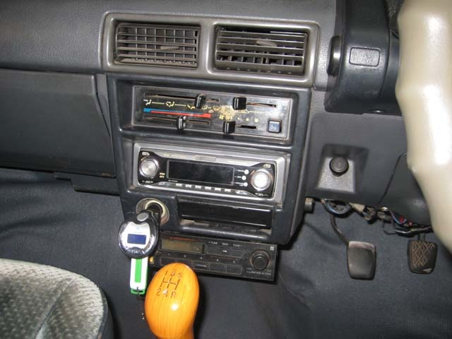 Picture of 1987 Daihatsu Charade, interior