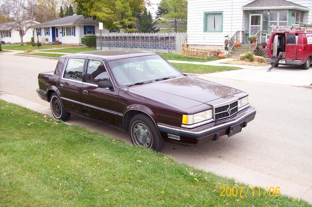 Picture of 1988 Dodge Dynasty, exterior