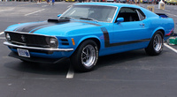 1970 Ford Mustang, I want this car!! GrabberBlue 70 boss 302...with some modifications to make my own :), exterior