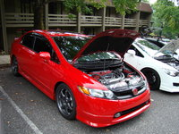Picture of 2007 Honda Civic 4 Dr Si, exterior, engine