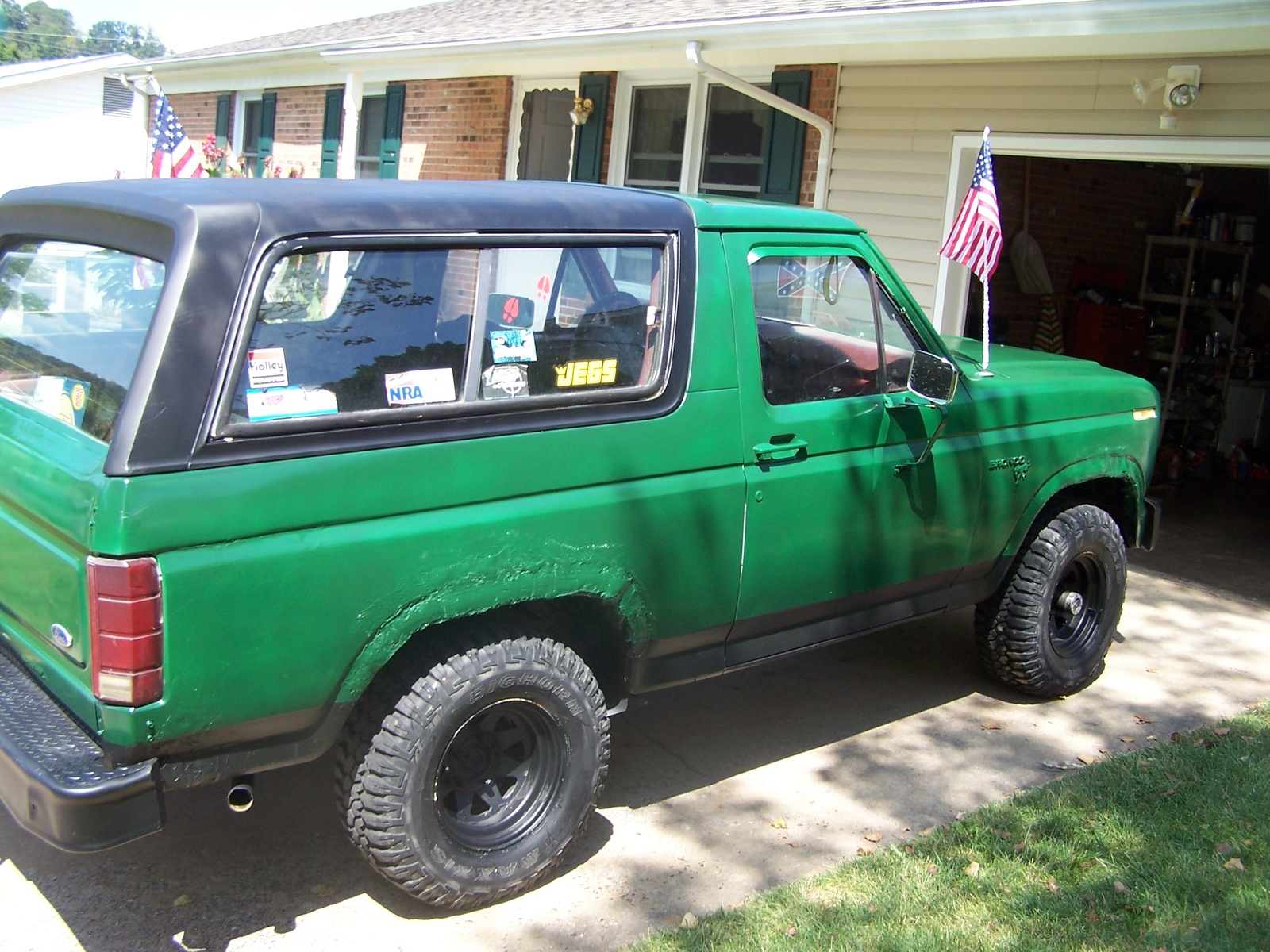 Ford Bronco 1986on 1987 Ford Bronco Ii