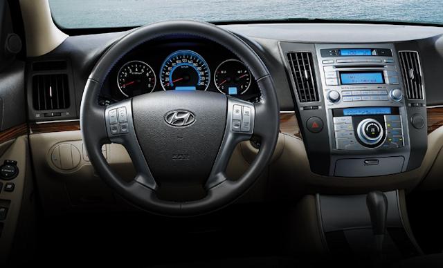 Hyundai Veracruz Interior. 2010 Hyundai Veracruz