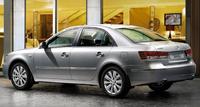 2010 Hyundai Sonata, Back Left Quarter View, exterior, manufacturer