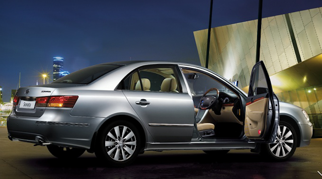 2010 Hyundai Sonata, Right Side View, interior, exterior, manufacturer